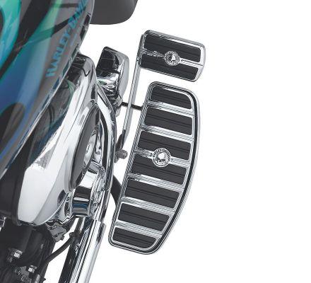 Harley-Davidson® Willie G. Skull Rider Footboard Insert Kit- Traditional D Shape 50710-04