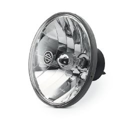 Harley-Davidson® Halogen Headlamp- Clear Smooth Lens with Reflector Optics 68342-05A
