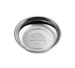 Harley-Davidson® Stainless Steel 6 in. Tray with Magnetic Base 94793-01
