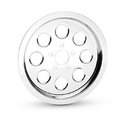 Harley-Davidson® Chrome Sprocket Cover With Holes 91346-00