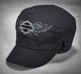 Harley-Davidson® Women's Flashy Bar & Shield Logo Biker Cap 99451-13VW