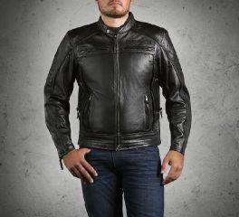 Harley-Davidson® Men's Triple Vent System Beginnings Leather Jacket 98067-14VM