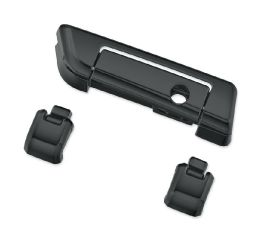 Harley-Davidson® Gloss Black Tour-Pak Hinges and Latch Kit 53000343