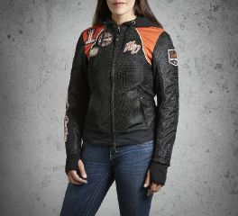 Harley-Davidson® Women's Cora 3-in-1 Mesh Jacket 98557-14VW