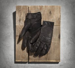 Harley-Davidson® Men's Distressed Full-Finger Gloves 98324-15VM