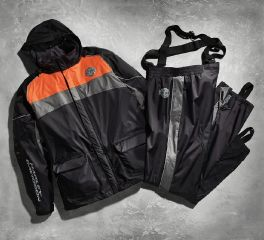Harley-Davidson® High Tail Colorblocked Hi-Vis Rain Suit 98337-15VM