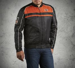 Harley-Davidson® Men's Moto Ride Nylon Jacket 98553-15VM