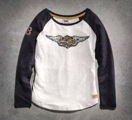 Harley-Davidson® Women's Genuine Long Sleeve Knit Tee 99126-15VW