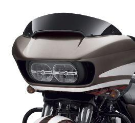 Harley-Davidson® Road Glide 6 in. Contoured Wind Deflector - Black 57400280