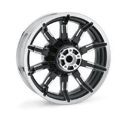 Harley-Davidson® Impeller 16 in. Rear Wheel - Contrast Chrome 40900391