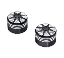Harley-Davidson® Burst Front Axle Nut Covers 43000031
