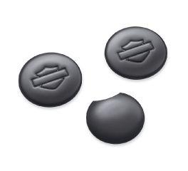 Harley-Davidson® Fork Tube and Steering Stem Cover Kit - Gloss Black 45800056