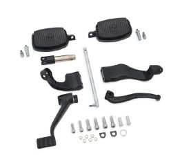 Harley-Davidson® Further Forward Mid-Control Kit - Gloss Black 50700028