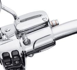 Harley-Davidson® Chrome Clutch Bracket and Master Cylinder Reservoir Kit 41700324A