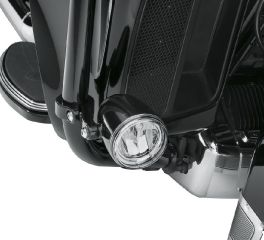 Harley-Davidson® Daymaker™ Reflector LED Fog Lamps - Gloss Black Housing 68000092