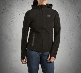 Harley-Davidson® Women's Waterproof Fleece Jacket 98093-15VW