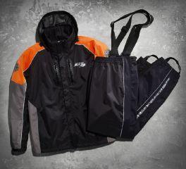 Harley-Davidson® Men's Rutledge Hi-Vis Rain Suit 98372-15VM
