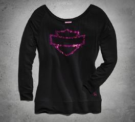 Harley-Davidson® Women's Pink Label Pullover 99112-15VW