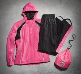 Harley-Davidson® Women's Hi-Vis Reflective Rain Suit 98362-15VW