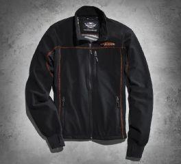 Harley-Davidson® Men's Fleece Mid-Layer Jacket 98571-16VM