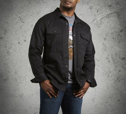 Harley-Davidson® Men's Quilted Shirt Jacket 99025-16VM