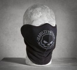 Harley-Davidson® Men's Skull Fleece/Neoprene Face Mask 99406-16VM