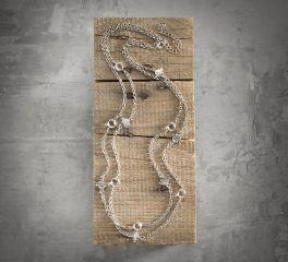 Harley-Davidson® Women's Rhinestone Shield Wrap Necklace 99526-16VW