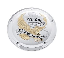 Harley-Davidson® Live to Ride Derby Cover 25700472