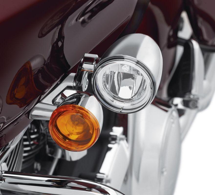 Road Glide LED Fog Lamp Mount Kit