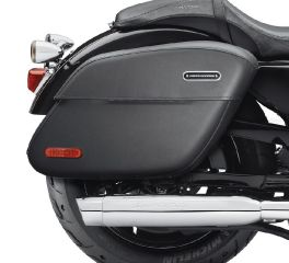 Harley-Davidson® Rigid Leather Locking Saddlebags 90201321
