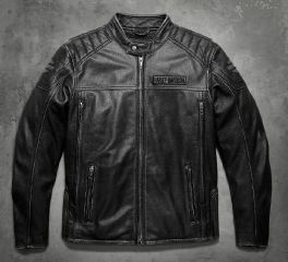 Harley-Davidson® Men's Midway Distressed Leather Jacket 98108-16VM