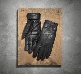 Harley-Davidson® Women's Skull Rivet Leather Gloves 98222-16VW