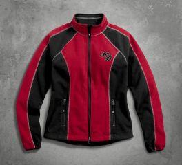 Harley-Davidson® Women's Scroll Skull Windproof Fleece 98574-16VW