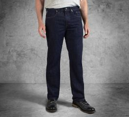 Men's Indigo Straight Leg Fit Black Label Jeans