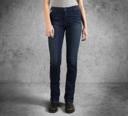 Harley-Davidson® Women's Slim Boot Cut Mid-Rise Jeans 99179-16VW