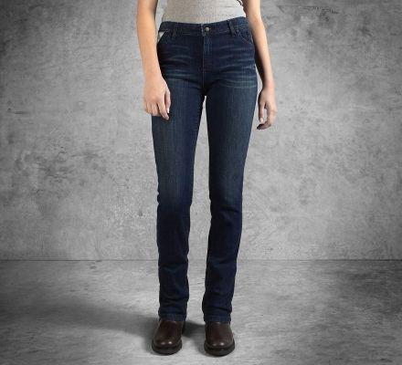 Harley-Davidson® Women's Slim Boot Cut Mid-Rise Jeans 99179-16VW