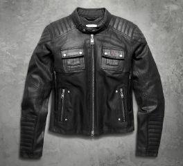 Harley-Davidson® Women's Quilted Coated Denim Riding Jacket 98115-16VW