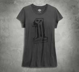 Women's Sketchy No1 Skull Tee 99181-16VW