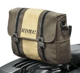 Harley-Davidson® HDMC Messenger Bag - Brown/Tan 93300100