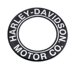 Harley-Davidson® H-D Motor Co. Script Fuel Cap Medallion 61300585