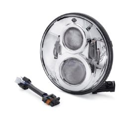 Harley-Davidson® 7 in. Daymaker™ Projector LED Headlamp - Chrome 67700265