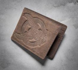 Harley-Davidson® Men's Eagle Distressed Wallet 97717-16VM