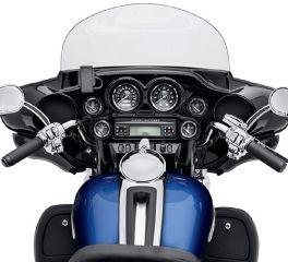 Harley-Davidson® Titanium Face Gauges 74683-10