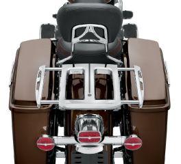 Harley-Davidson® Adjustable Two-Up Chrome Luggage Rack 50300044B