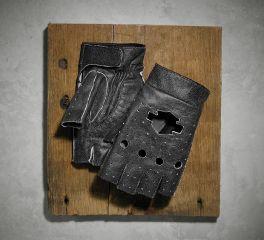 Harley-Davidson® Men's Emery Perf Leather Fingerless Gloves 97359-16VM