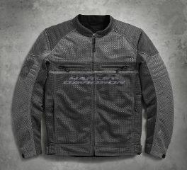 Harley-Davidson® Men's Affinity Mesh Riding Jacket 98296-17VM