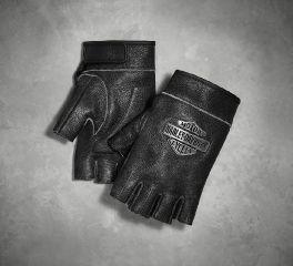 Harley-Davidson® Men's Passing Link Fingerless Gloves 98351-17VM