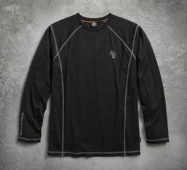 Harley-Davidson® Men's Performance Long Sleeve Tee with Coldblack Technology 99005-17VM