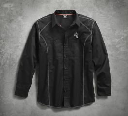 Harley-Davidson® Men's Performance Long Sleeve with Coldblack Technology 99017-17VM