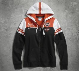 Harley-Davidson® Women's Classic Colorblock Hoodie 99125-17VW